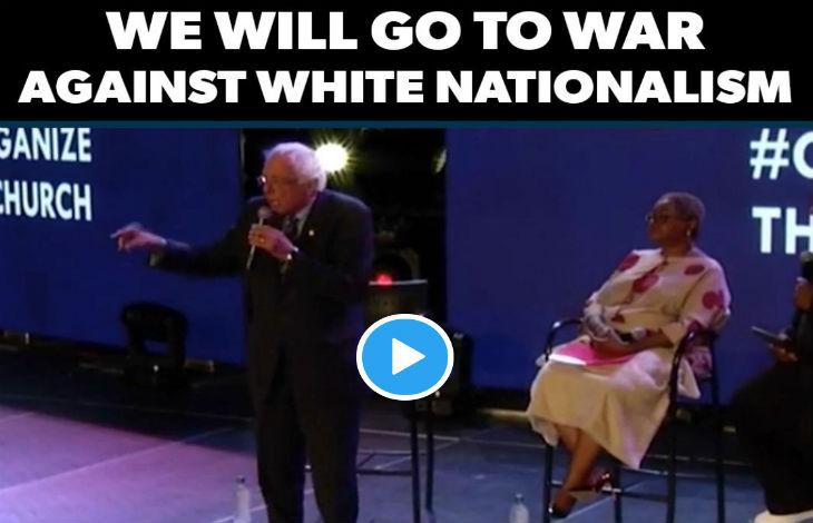 Etats Unis : Bernie Sanders « Nous irons en guerre contre le nationalisme blanc et le racisme »