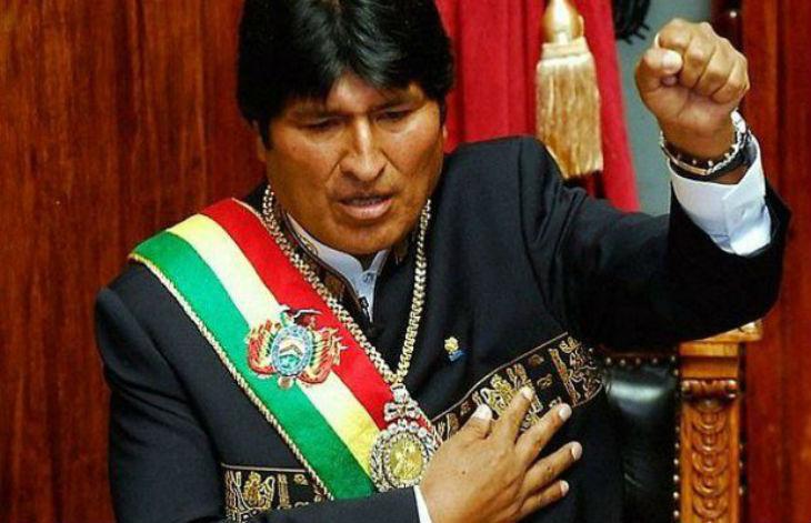 Bolivie président Evo Morales