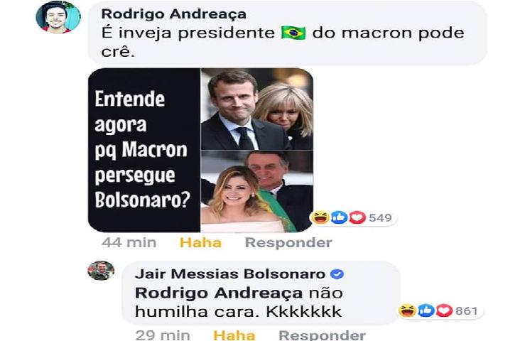 Tension diplomatique avec le Brésil : Jair Bolsonaro se moque du physique de Brigitte Macron