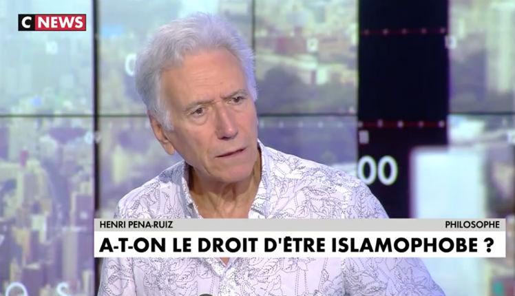 Henri Pena-Ruiz invité par Pascal Praud islamophobie