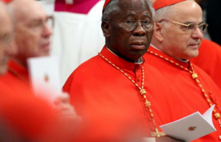 Le Cardinal nigérianFrancis Arinze