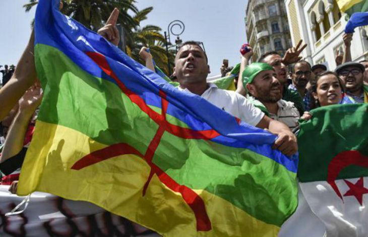 drapeau berbère Algérie