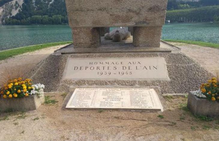 Nantua: le mémorial des déportés cible de tags antispécistes