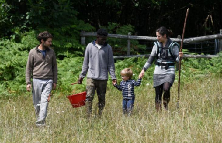 migrants à la ferme