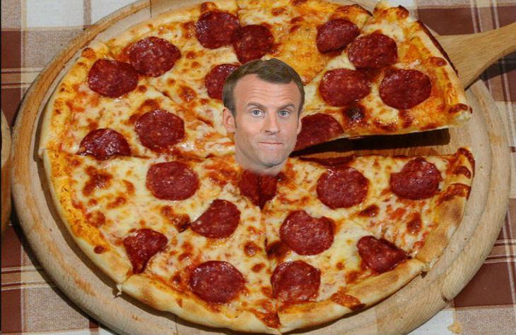Pizza et bains de foule : BFM TV ébahi par le «nouveau» Macron à Brégançon