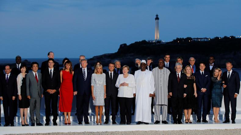 photo de famille du G7