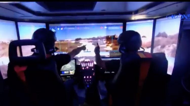Le nouveau tank israélien dirigé à distance par des champions des jeux vidéos