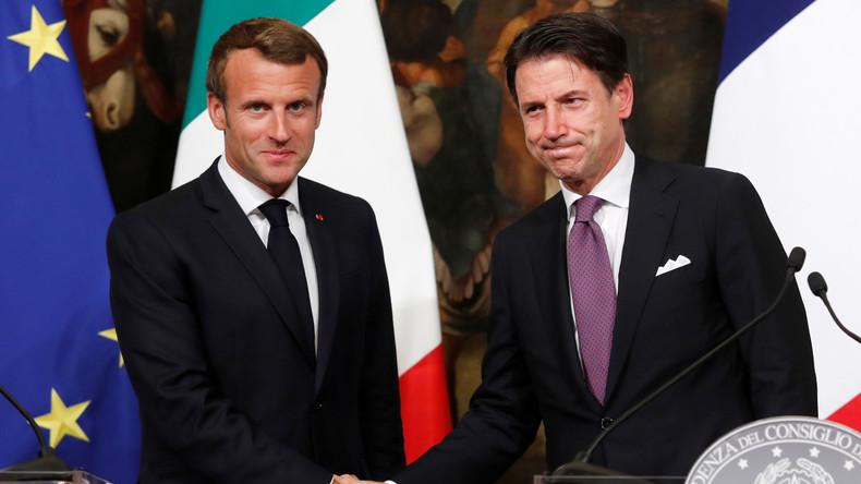 Macron veut imposer encore plus de migrants au pays européens « sous peine de sanctions financières »
