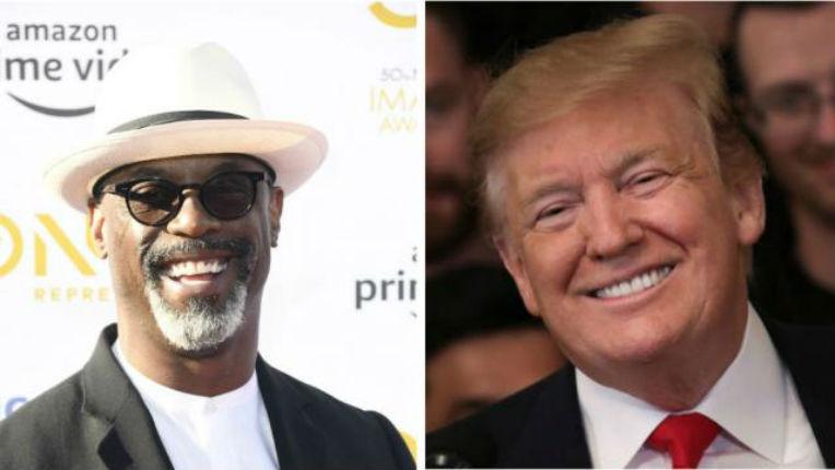 Isaiah Washington soutient Trump