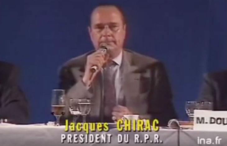Comment la télévision du Service Public a fait taire Chirac sur l'immigration (Vidéo)