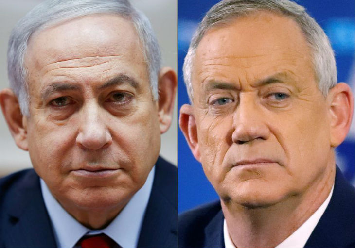 Elections en Israël : Netanyahou et Gantz au coude-à-coude après le dépouillement quasi final des voix