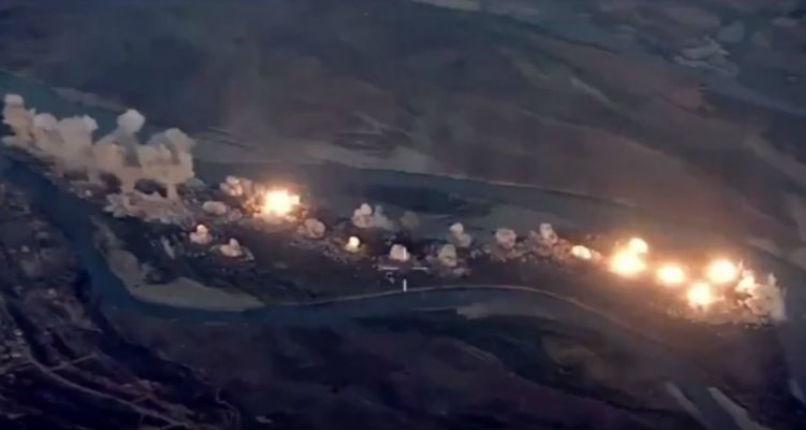Les États-Unis pulvérisent une «île infestée» de Daesh en larguant 36 tonnes de bombes en Irak (Vidéo)