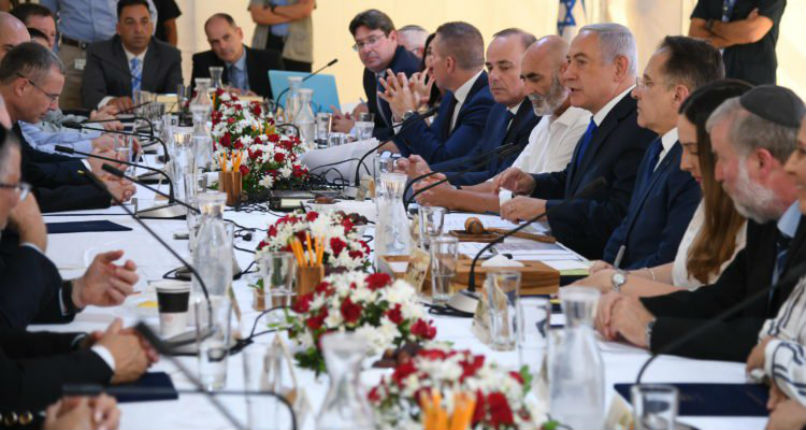 Le cabinet israélien approuve la communauté de Mevo'ot Yeriho, située dans la vallée du Jourdain
