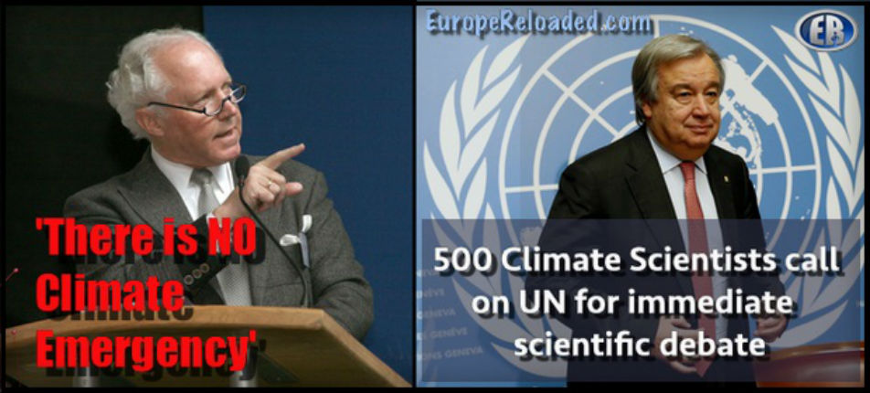 Le rapport alarmiste du GIEC contesté : 500 scientifiques et experts du climat saisissent l'ONU «il n'y a pas d'urgence climatique !». 40 experts français ont signé