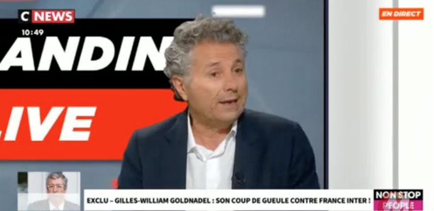 Colère de Goldnadel contre France Inter « Je m'étonne qu'une radio d'Etat, on la paye, c'est la nôtre, soit totalement inféodée à la gauche. Tous les journalistes sont de gauche » (Vidéo)