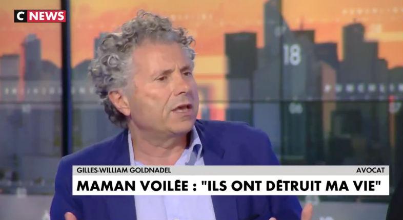 Gilles-William Goldnadel sur Cnews « Le CCIF (Collectif contre l'islamophobie en France) est un organisme proche des Frères musulmans qui a un projet d'islam politique » (Vidéo)