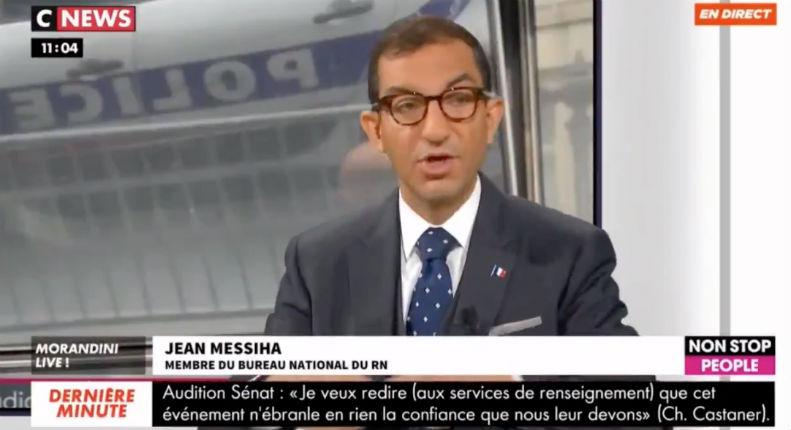 Sur CNews, Jean Messiha «Si la France est un pays islamophobe, pourquoi des millions de migrants musulmans risquent leurs vies pour y venir ?» (Vidéo)