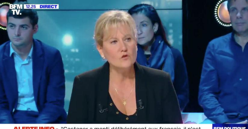 Nadine Morano sur BFMTV « Si on veut vivre en faisant primer sa religion sur les lois de notre République, on prend sa valise et on va vivre dans un État musulman » (Vidéo)