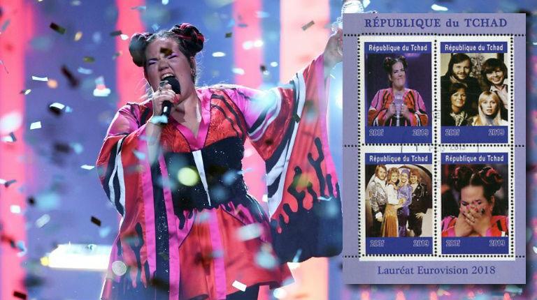 Tchad: des timbres à l'effigie de Netta Barzilai pour marquer la reprise des relations avec Israël