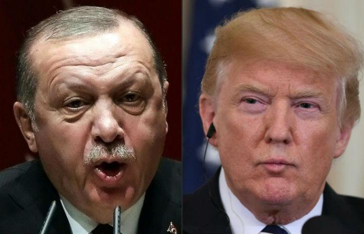 Trump met fin aux négociations commerciales avec la Turquie «Je suis totalement prêt à détruire rapidement l'économie turque»