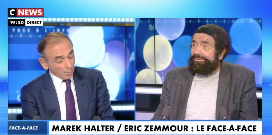 Zemmour face à Marek Halter : « BHL c'est Harry Potter et vous c'est Oui-Oui » (Vidéo)