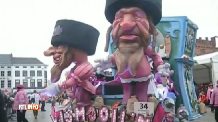Des chars et des rubans antisémites en préparation pour le prochain carnaval d'Alost en Belgique