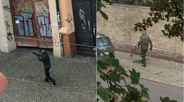 Attaque contre la synagogue de Halle : le commando voulait faire un massacre dans la synagogue pour Kippour, une grenade à main lancée sur le cimetière juif. Les terroristes en fuite tirent sur un restaurant