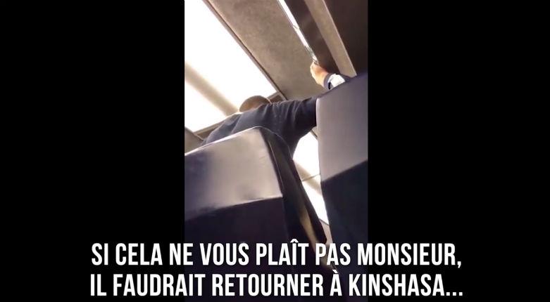 Contrôle tendu dans un train : « Si t'es pas content des lois belges, retourne à Kinshasa ! » (Vidéo)