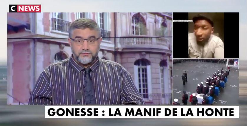 L'imam Abdelali Mamoun ose comparer la Marseillaise et les appels au djihad armé sur CNews (Vidéo)