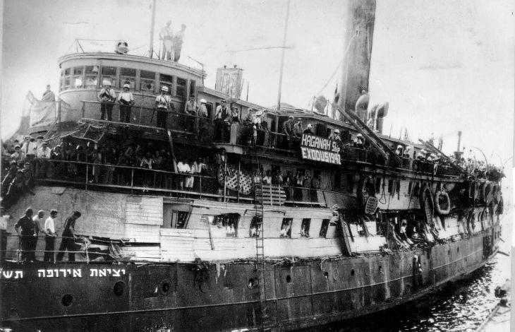 1933-1939 : La Palestine première destination des Juifs fuyant le Reich