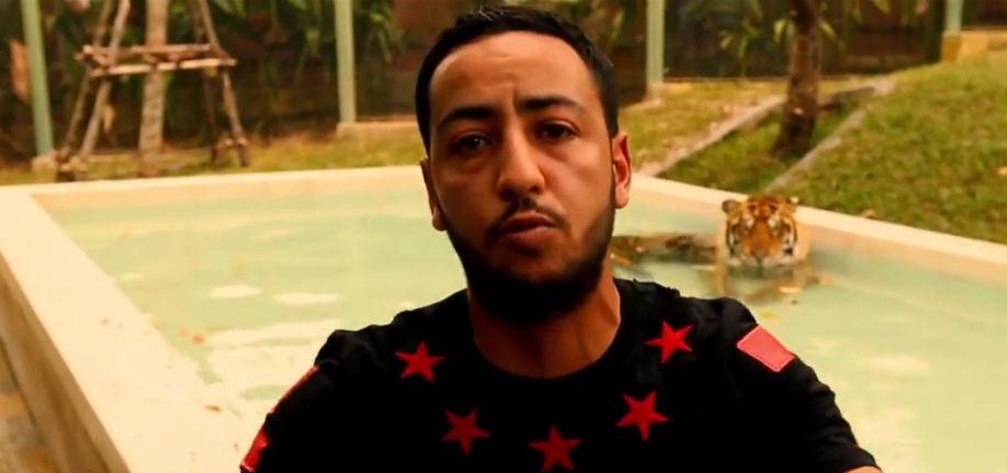 Pour le rappeur Lacrim la France « est un pays de fils de p*** » suite à la polémique sur le voile islamique (Vidéo)