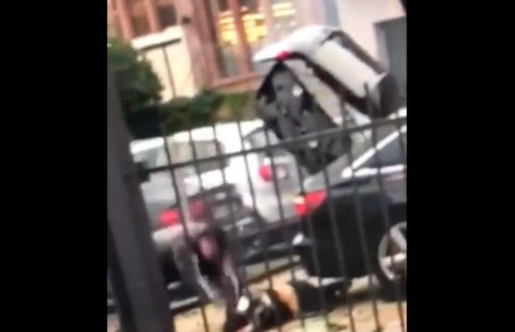 Limburg, Allemagne : Un Tunisien massacre sa femme à la hache jusqu'à la décapiter en pleine rue (Vidéo hard)