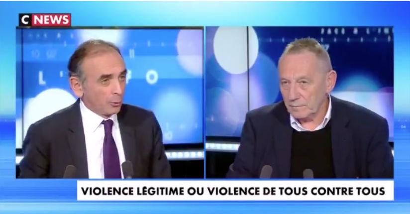 Eric Zemmour Vs Yves Michaud : «On laisse faire les « Black blocs », on éborgne les gilets jaunes et les émeutiers des banlieues bénéficient d'une espèce de liberté totale» (Vidéo)