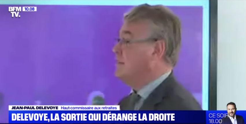 Jean-Paul Delevoye, haut-commissaire aux retraites, « On aura besoin de 50 millions d'étrangers pour équilibrer le système » (Vidéo)