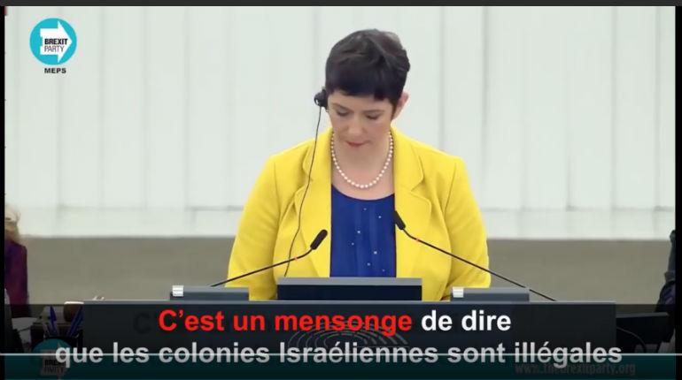 UE : Lance Forman, membre du parlement européen, explique pourquoi «les colonies israéliennes» sont légales et partie du territoire israélien en droit International, contrairement aux affirmations des médias français (Vidéo)