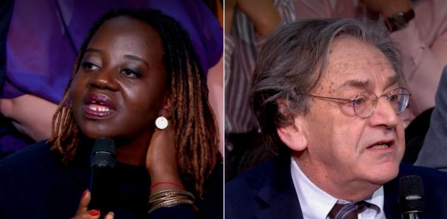 Maboula Soumahoro à Finkielkraut: «Votre monde se termine ! Vous pourrez paniquer tant que vous voudrez, c'est terminé !» (Vidéo)