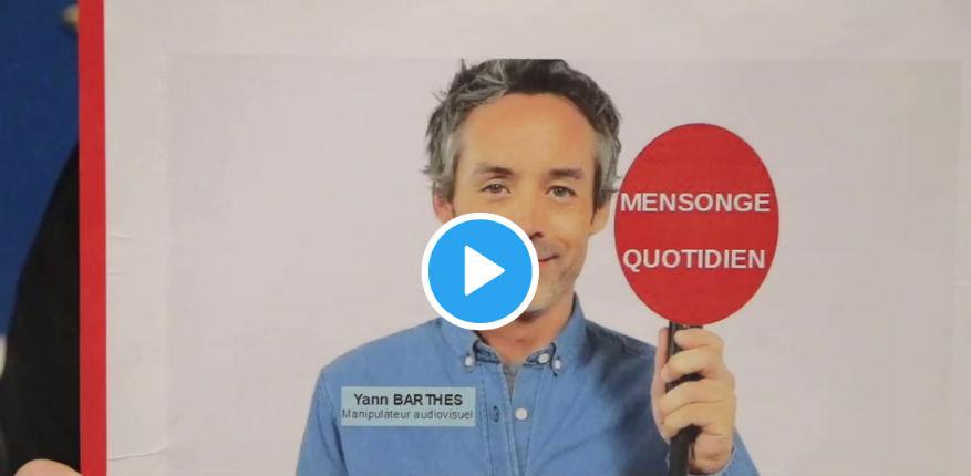Nadine Morano démonte «la télépoubelle de Yann Barthès manipulateur audiovisuel et menteur professionnel» sur le voile (Vidéo)