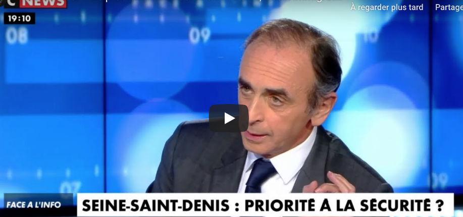 Éric Zemmour : « On sait qu'il y a des problèmes à cause de l'immigration et on va l'augmenter. Emmanuel Macron et Édouard Philippe se moquent du monde » (Vidéo)