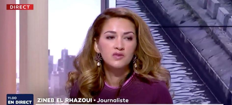 Zineb El Rhazoui : « Je suis sous protection policière avec mon enfant, ce n'est pas de l'opportunisme que de porter une parole qui vous vaut d'être menacé de mort » (Vidéo)