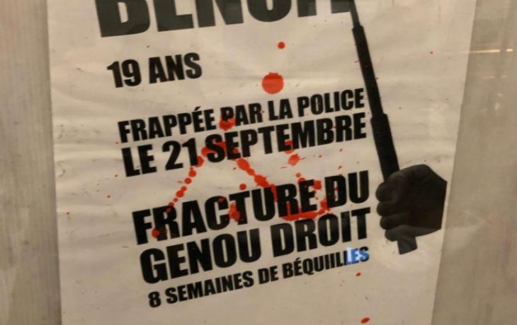 """Des affiches """"anti-police"""" dans le métro provoquent un tollé"""