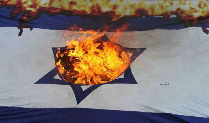 Enseignement de la haine d'Israël : Le drapeau israélien brûlé dans une école en Tunisie (Vidéo)