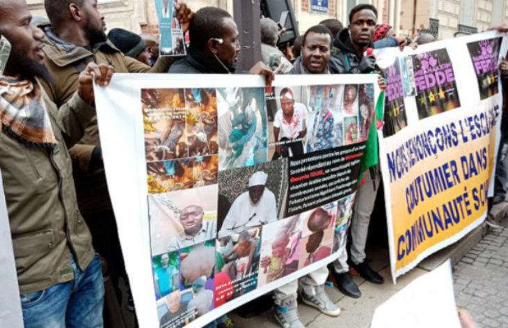 Selon un imam malien le Coran autorise l'esclavage. Manifestation devant l'ambassade de l'Arabie saoudite à Paris