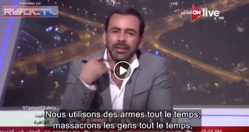 Un journaliste arabe «Dites-moi ce que les musulmans ont apporté au XXème siècle, Rien ! Nous massacrons des gens tout le temps, nous n'avons apporté que des attentats terroristes» (Vidéo)