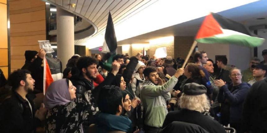 Toronto : une manifestation de haine antisémite perturbe une soirée pro-Israël à l'université York (Vidéo)