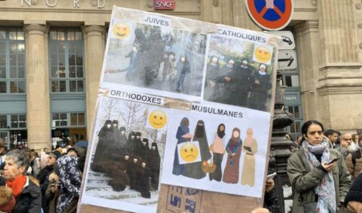 La marche des islamo-gauchistes insinue que les Juifs sont plus protégés que les musulmans. Pourtant il y a plus 5 fois plus d'actes antisémites que d'actes anti musulman