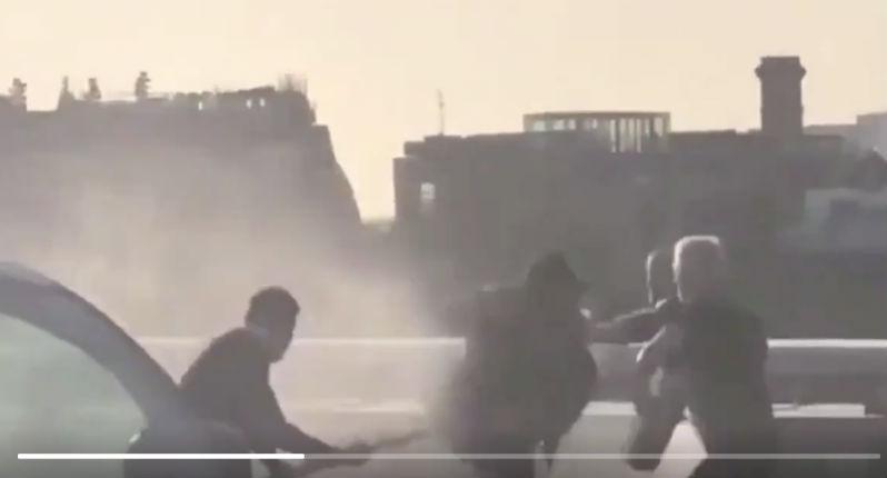 Attaque terroriste à Londres : Vidéo des 3 héros qui neutralisent le terroriste. Bilan 2 morts et 3 blessés (Vidéo)