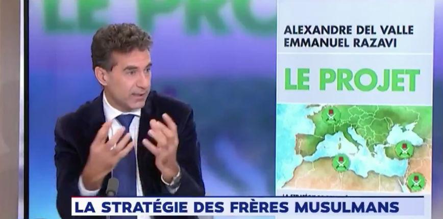 Alexandre del Valle son nouveau livre «Le Projet»: « Les Frères musulmans et les wahhabites convergent pour islamiser l'Europe » (Vidéo)