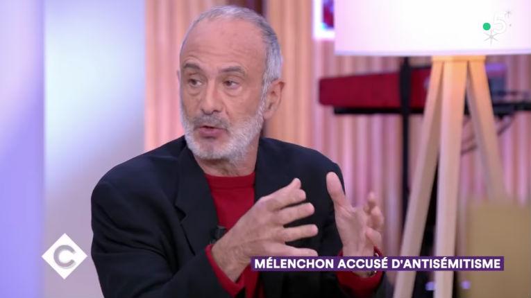 Le gauchiste antisioniste Gérard Miller prend la défense de son pote Mélenchon accusé d'antisémitisme (Vidéo)