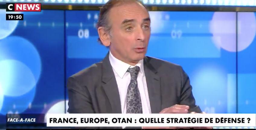 Éric Zemmour «Le djihadisme est un problème intérieur. Nous avons une cinquième colonne sur notre territoire qui est alliée avec les islamistes» (Vidéo)