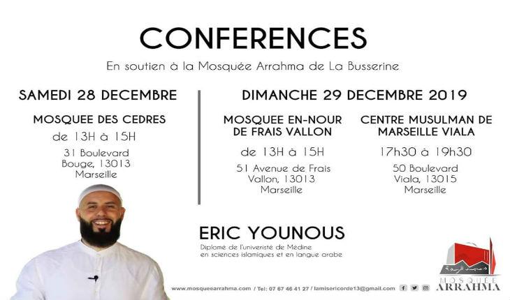 Marseille : un prédicateur wahhabite fiché S tient conférence dans trois mosquées